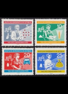 Vokietijos Demokratinė Respublika (VDR), pilna serija MiNr 800-803 MNH**