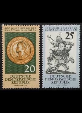 Vokietijos Demokratinė Respublika (VDR), pilna serija MiNr 791-792 MNH**