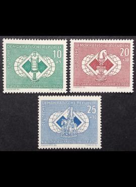 Vokietijos Demokratinė Respublika (VDR), pilna serija MiNr 786-788 MNH**