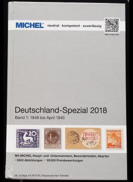 MICHEL 1849-1945 m. Vokietijos specializuotas pašto ženklų katalogas