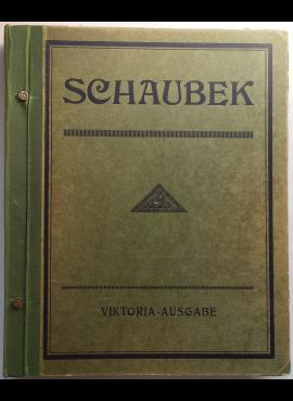 Antikvarinis Schaubek Viktoria 20-o leidimo specializuotas Europos + kolonijų albumas