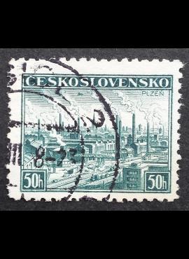 Čekoslovakija, MiNr 400 Used (O)