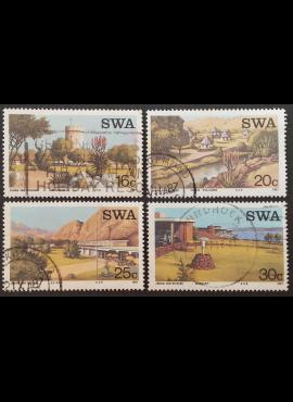 Pietų-Vakarų Afrika, pilna serija, ScNr 586-589 Used (O)