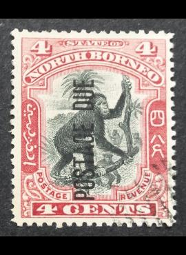 Šiaurės Borneo, MiNr P18 Used (O)