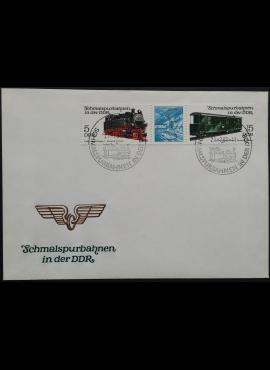 Vokietijos Demokratinė Respublika (VDR), pirmos dienos vokas su MiNr 2629, 2631