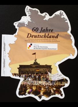 """Teminis lankstinukas: """"60 metų Vokietijos Federacinei Respublikai"""""""