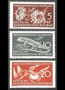 Vokietijos Demokratinė Respublika (VDR), pilna serija MiNr 561-563 MLH*