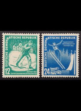 Vokietijos Demokratinė Respublika (VDR), pilna serija MiNr 298-299 MH*