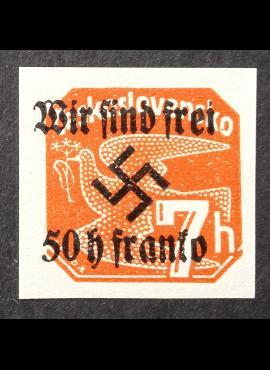Vokietijos Reichas, Sudetų žemės, Rumburgas MiNr 26 MNH**