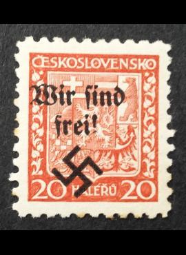 Vokietijos Reichas, Sudetų žemės, Rumburgas MiNr 3 MNH**
