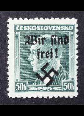 Vokietijos Reichas, Sudetų žemės, Rumburgas MiNr 7 MNH**