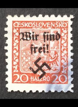 Vokietijos Reichas, Sudetų žemės, Rumburgas MiNr 3 Used (O)