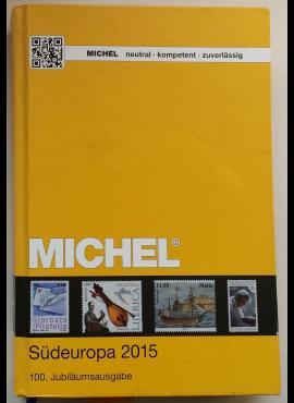 MICHEL 2015 m. Pietų Europos pašto ženklų katalogas