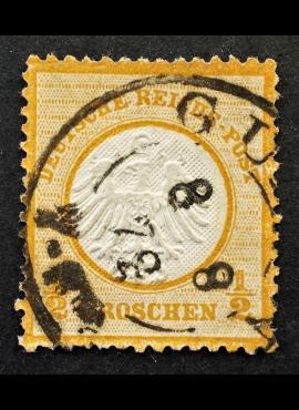 Vokietijos Reichas, 1872 m., MiNr 3 Used (O)