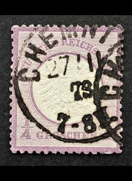 Vokietijos Reichas, 1872 m.,MiNr 16Used (O)
