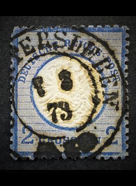 Vokietijos Reichas, 1872 m.,MiNr 20Used (O)