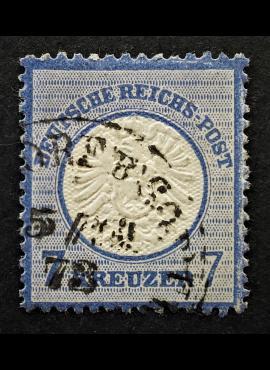 Vokietijos Reichas, 1872 m., MiNr 26 Used (O)