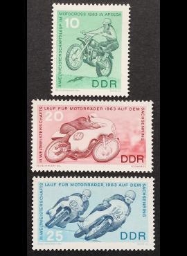 Vokietijos Demokratinė Respublika (VDR), pilna serija MiNr 972-974 MNH**