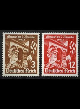 Vokietijos Reichas, pilna serija, MiNr 598-599 MLH*