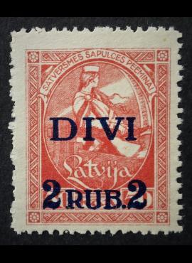 Latvija, MiNr 64 MH*