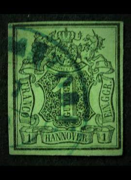 Senoji Vokietija, Hanoveris, MiNr 2b Used (O)
