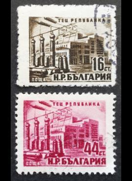 Bulgarija, pilna serija MiNr 821-822 Used (O)