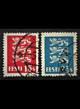 Estija, pilna serija, MiNr 106-107 Used (O)