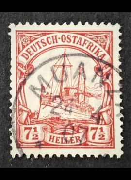 Vokietijos Reichas, Užsienio ir kolonijų paštas, Vokietijos Rytų Afrika, MiNr 32 Used (O)