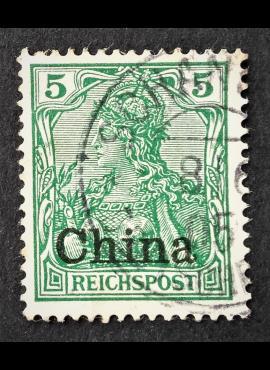 Vokietijos Reichas, Užsienio ir kolonijų paštas, Kinija MiNr 16 Used (O)