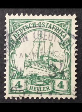 Vokietijos Reichas, Užsienio ir kolonijų paštas, Rytų Afrika, MiNr 23 Used (O)