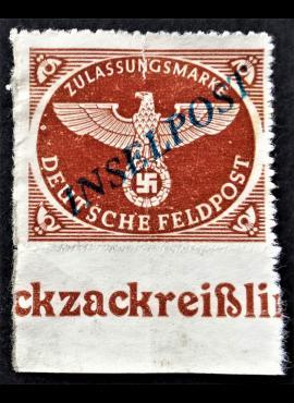 Vokietijos Reichas, oro paštas, MiNr 10 Bc MNG (*)