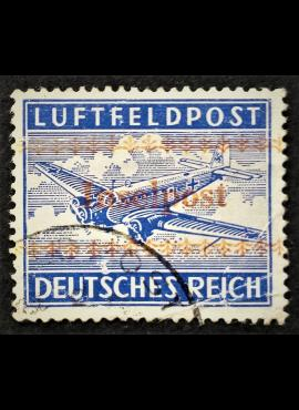 Vokietijos Reichas, oro paštas, MiNr 7 A Used (O)