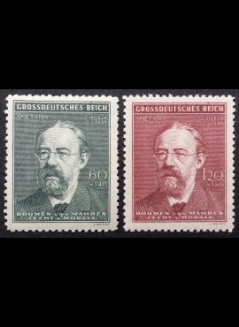 Vokietijos Reichas, Čekijos okupacija, pilna serija, MiNr 138-139 MNH**