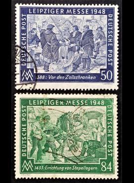 Pokario Vokietija, Sąjungininkų zona, pilna serija, MiNr 967-968 Used (O)