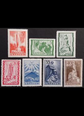 Latvija, pilna serija, MiNr 246-252 MNH**
