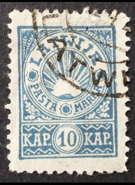 Latvija, MiNr 24A Used (O)