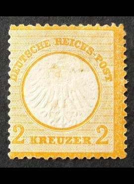 Vokietijos Reichas, MiNr 8 MH*