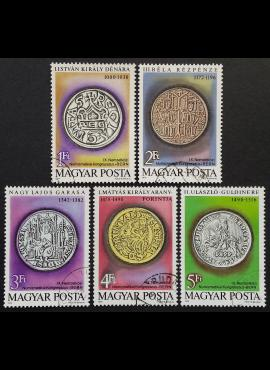 Vengrija, pilna serija, MiNr 3372-3376 (A) Used (O)