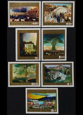 Vengrija, pilna serija, MiNr 2878-2884 (A) MNH**
