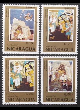 Nikaragva, pilna serija MiNr 2839-2842 Used (O)
