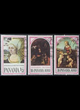 Panama, pilna serija, MiNr 873-875 Used (O)
