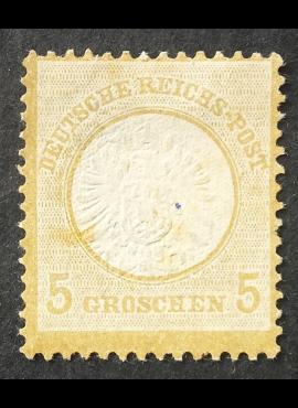 Vokietijos Reichas, 1872 m. MiNr 22 MNG (*)