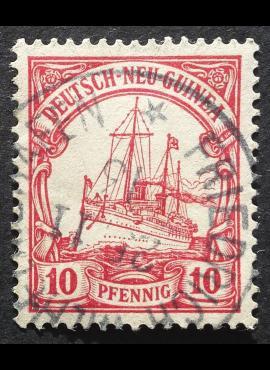 Vokietijos Reichas, Užsienio ir kolonijų paštas, Vokietijos Naujoji Gvinėja MiNr 9 Used (O)
