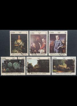 Kuba, pilna serija, MiNr 2528-2533 Used (O)