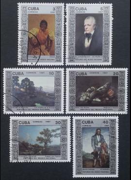 Kuba, pilna serija, MiNr 3074-3079 Used (O)