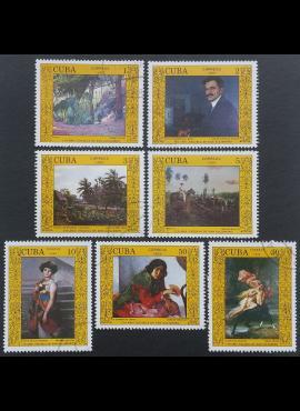 Kuba, pilna serija, MiNr 3149-3155 Used (O)