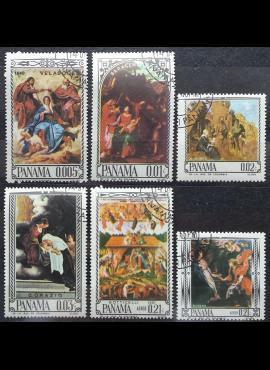 Panama, pilna serija, MiNr 917-922 Used (O)