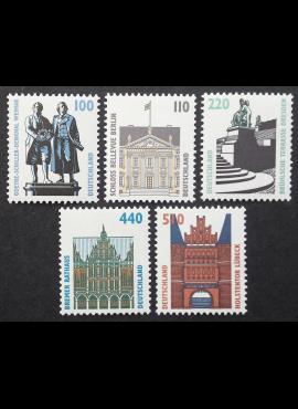 Vokietija, pilna serija, MiNr 1934-1938 A MNH**