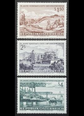 Austrija, pilna serija, MiNr 1373-1375 MNH**