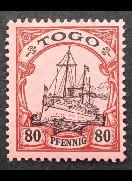 Vokietijos Reichas, Užsienio ir kolonijų paštas, Togas, MiNr 15 MH*